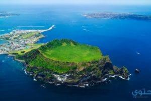 صور السياحة في جزيرة جيجو كورية الجنوبية