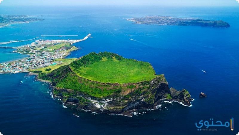 صور السياحة في جزيرة جيجو الكورية