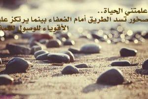 كلمات وعبارات عن الحياة