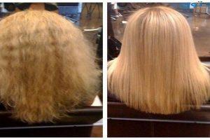 متى يمكن فرد الشعر المصبوغ؟