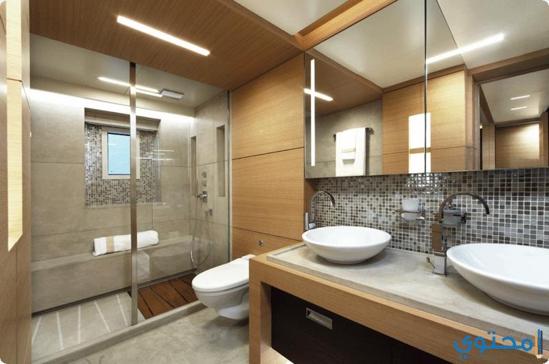 أجمل ديكورات حمامات حديثه 2020 موقع محتوى