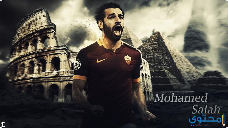 محمد صلاح مع روما