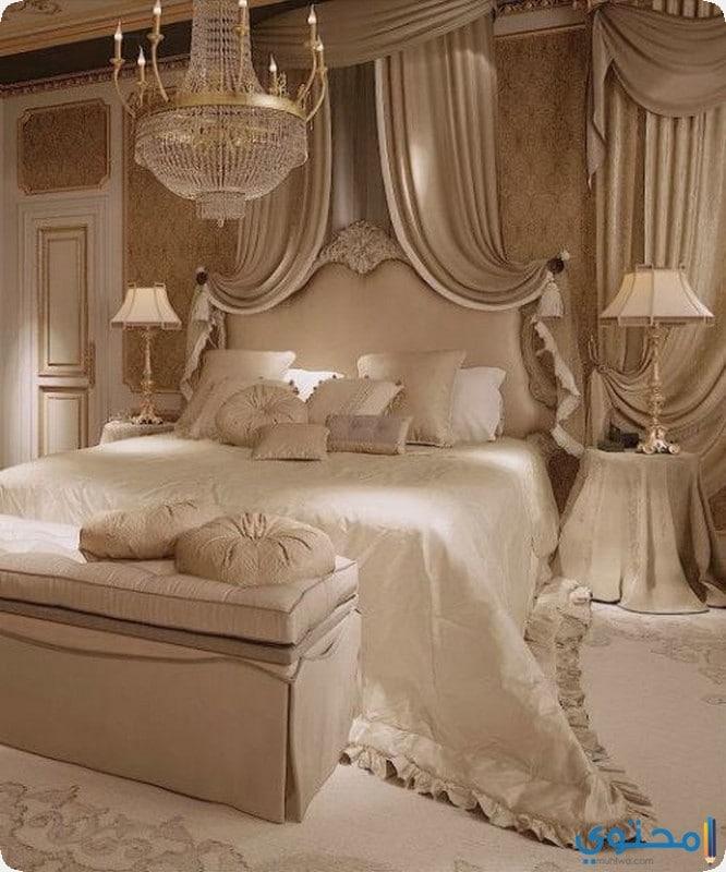 غرف نوم كلاسيك رومانسيه