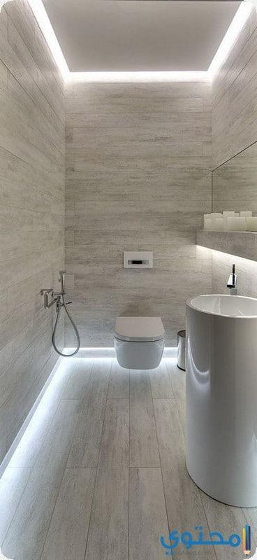ديكورات حمامات صغيرة المساحة 2020 موقع محتوى