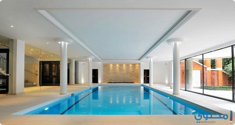 swimming pool indoor 08 1 - غرف نوم عرسان حديثة 2018
