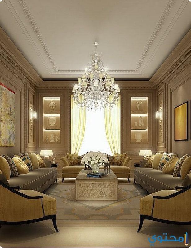 Luxury Ideas For Lavish Living Room Style: ديكورات صالونات منازل تركية 2018