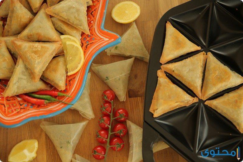 طريقة عمل سمبوسة اللحم المفروم لعزومات رمضان