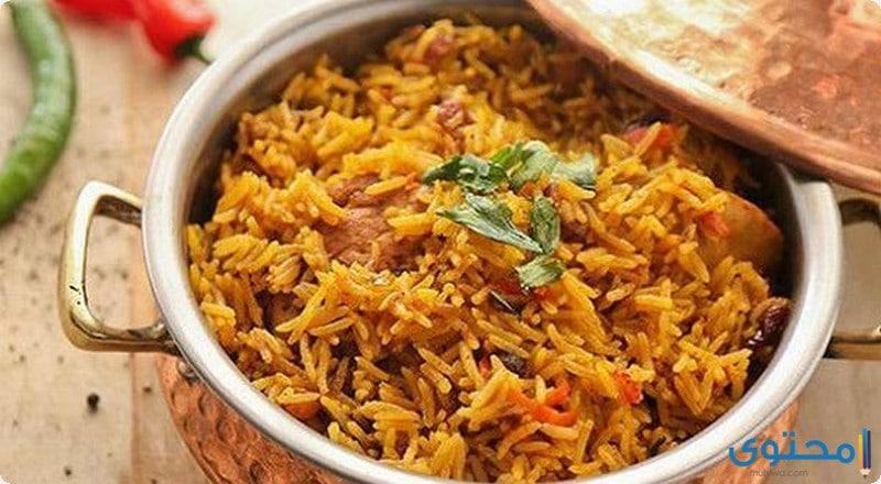 أرز الكبسة باللحمة
